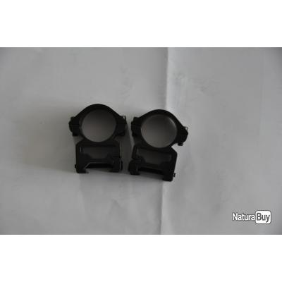 Anneaux de montage de lunette 21mm (Haut, diam 25.4 mm)