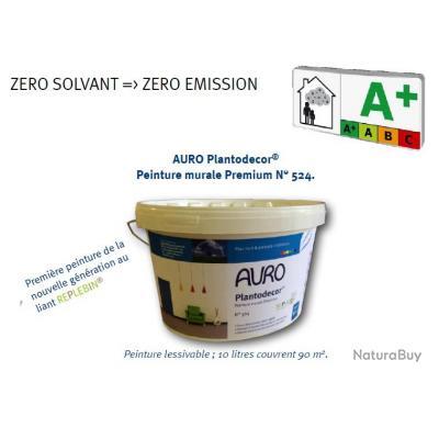 Auro - Peinture murale Premium Plantodecor® (nouvelle génération) 10 ...