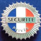 Insigne Sécurité privée