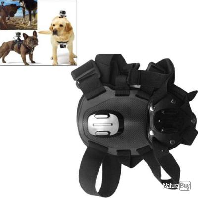 fixation harnais pour chien de chasse compatible gopro supports et fixations 2564617. Black Bedroom Furniture Sets. Home Design Ideas