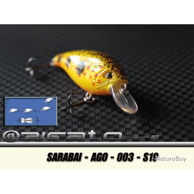 ARIGATO® - Leurres durs - SARABAI-AGO-003 S19