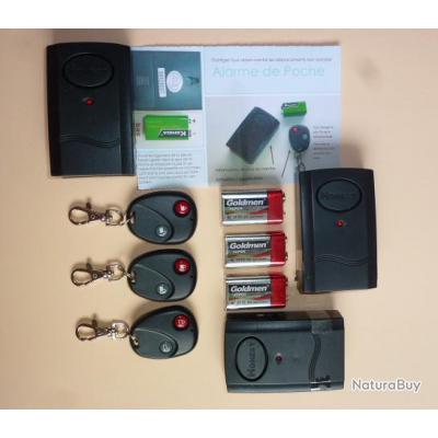Alarme sans fil moto for Alarme garage sans fil