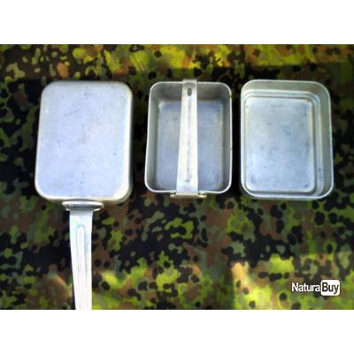 Lot de 3 gamelles individuelle gamelles gourdes et for Gamelle cuisine professionnel