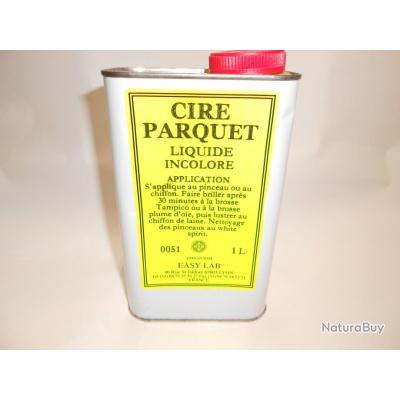 cire parquet liquide incolore 1 litre made in france cire laque 2631713. Black Bedroom Furniture Sets. Home Design Ideas