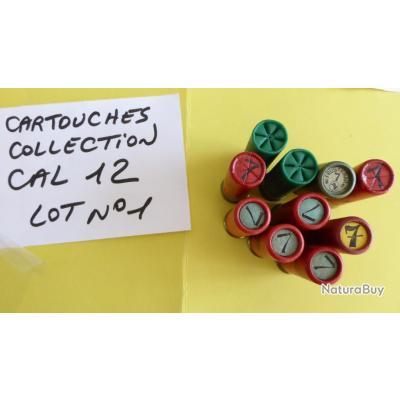 Lot n° 1 de cartouches de collection -  CAL 12