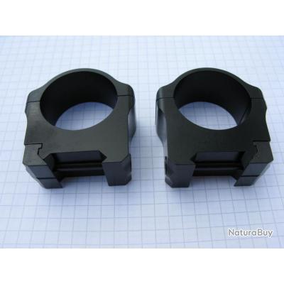 Colliers de 25,4 mm pour fixation sur rail weaver + rail weaver de 21 mm (voir liste des armes)