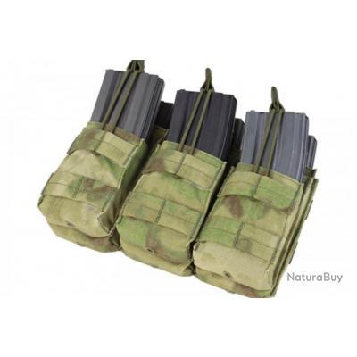 triple poche atacs-fg chargeur m4/m16