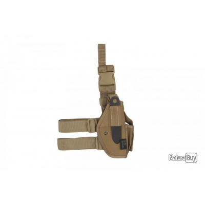 Holster de cuisse universel droitier tan strike systems