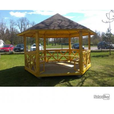 kiosque abris de jardin 9 5m2 auvents carports. Black Bedroom Furniture Sets. Home Design Ideas