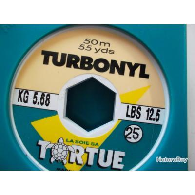 Fil 25/100 TORTUE 50 m LOT DE 8 BOBINES