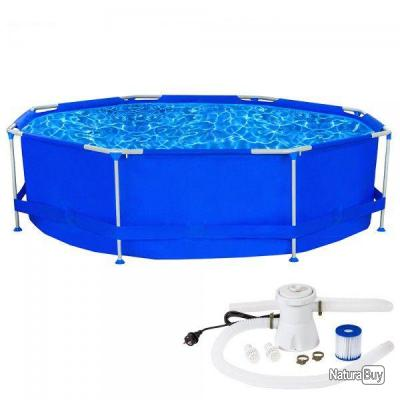 Piscine swimming pool hors sol pataugeoire pompe for Piscine hors sol non imposable