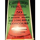 Boite 22LR concours CF. Collector