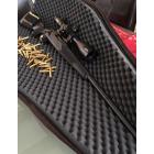 Carabine Marlin X7VH 308. canon lourd de 66cm, mont�e d'une lunette Walter 5-30x56 point lumineux