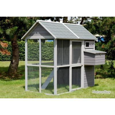 poulailler geant abri poule xxl clapier lapin coq pintade basse cour 13cl poulaillers. Black Bedroom Furniture Sets. Home Design Ideas
