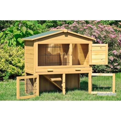 clapier lapin maison lievre cage rongeur 13cl poulaillers clapiers enclos etc 2721815. Black Bedroom Furniture Sets. Home Design Ideas