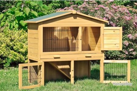 Clapier Lapin Maison Lievre Cage Rongeur 13cl Poulaillers Clapiers Enclos Etc 2721815