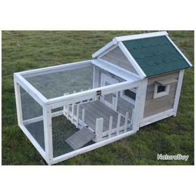 clapier lapin cochon d inde abri caille neuf 13cl. Black Bedroom Furniture Sets. Home Design Ideas