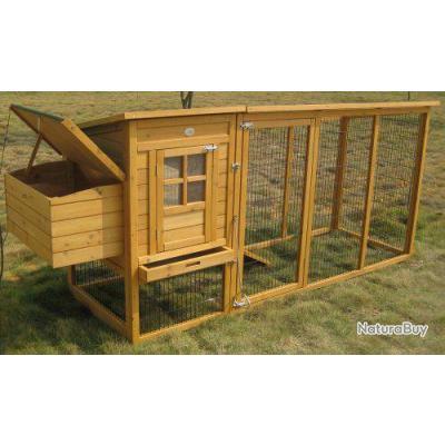 poulailler anti renard abri poule lapin caille 13cl poulaillers clapiers enclos etc. Black Bedroom Furniture Sets. Home Design Ideas