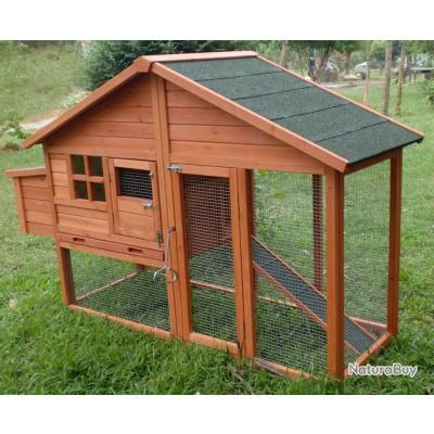 poulailler clapier abri poule caille volaille clapier neuf 13cl poulaillers clapiers enclos. Black Bedroom Furniture Sets. Home Design Ideas