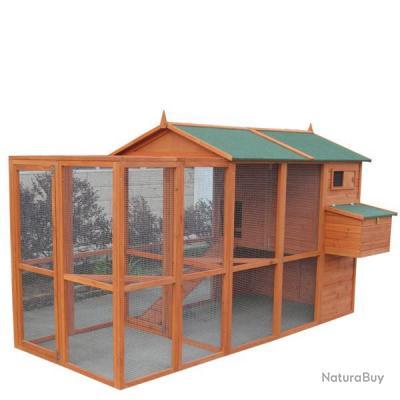 poulailler enclos geant qualite abri poule caille. Black Bedroom Furniture Sets. Home Design Ideas