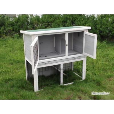 clapier lapin cochon d inde abri lapin xxl 13cl. Black Bedroom Furniture Sets. Home Design Ideas