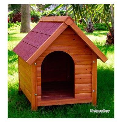 Niche chien taille xl abri chien cabane chien niche for Niche exterieur pour chien