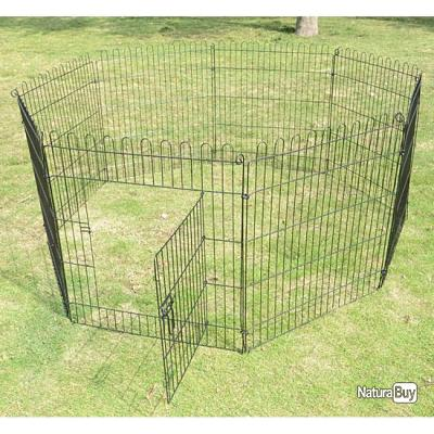 Parc chien cage chiot enclos chien cloture barriere TAILLE 1 13C
