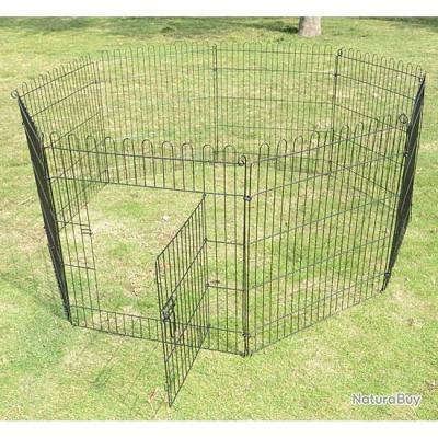 Parc chien cage chiot enclos chien cloture barriere TAILLE 3 13C