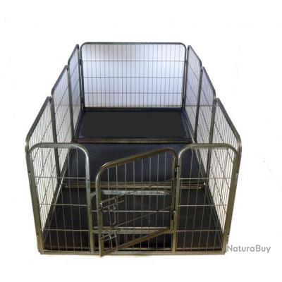 Enclos chien parc chien GEANT + bac NEUF 13C