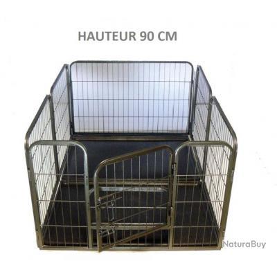 Enclos + 2 BACS chien parc chien cloture chien 13C