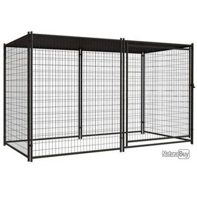 chenil xxl abri chien enclos parc cage neuf 13c chenil enclos parcs et portes 2724990. Black Bedroom Furniture Sets. Home Design Ideas