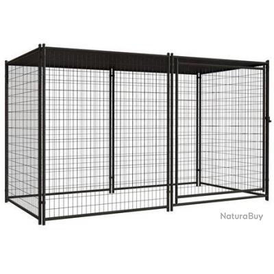 chenil xxl abri chien enclos parc cage neuf 13c chenil. Black Bedroom Furniture Sets. Home Design Ideas