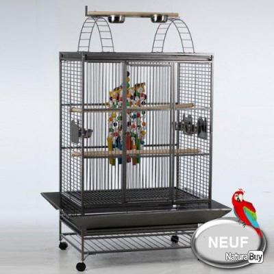 cage perroquet geante eclectus voliere cacatoes gris du. Black Bedroom Furniture Sets. Home Design Ideas