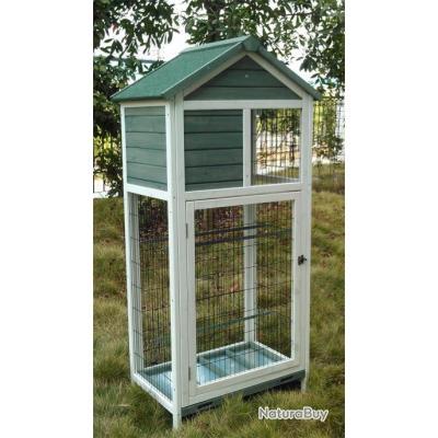 voli re bois inseparable canari cage mandarin voliere de jardin voliere bois cages oiseaux. Black Bedroom Furniture Sets. Home Design Ideas