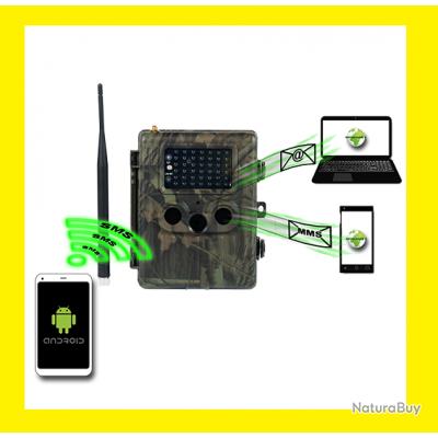 camera de surveillance naturacam gsm td x2 telecommandable distance cam ras de. Black Bedroom Furniture Sets. Home Design Ideas