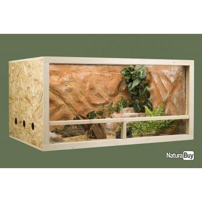 terrarium 120x60x60 cm neuf serpent reptile tortue. Black Bedroom Furniture Sets. Home Design Ideas