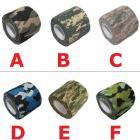 Lot de 2 bandes de camouflage auto-adhésif réutilisable (bc04)