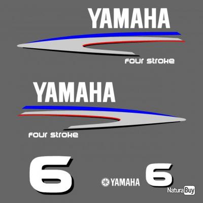 Kit stickers yamaha 6 cv ref 18 moteur hors bord bateau - Housse moteur hors bord yamaha ...