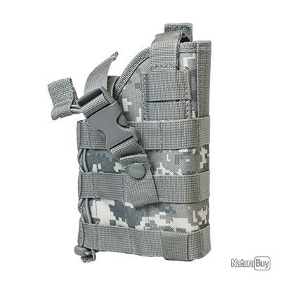 Holster modulable ambidextre - digital camo - compatible MOLLE - Vism by Nc Star