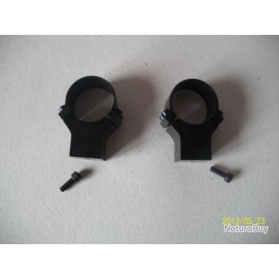 4fc85a9e2e5353 Collier alu diametre 25.4 pour lunette de hutte - Montages lunette ...