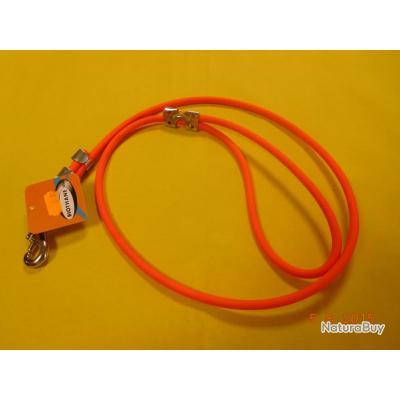 laisse  orange