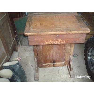 Ancien bureau anglais ecolier vintage luminaires et for Bureau ecolier ancien 1 place