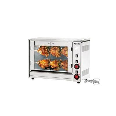 Rotissoire electrique p6 bartscher ba01 mat riel de for Equipement electrique cuisine