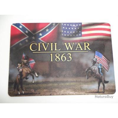 grand tapis de souris pour ordinateur mod le civil war 1863 id es cadeaux 2809989. Black Bedroom Furniture Sets. Home Design Ideas