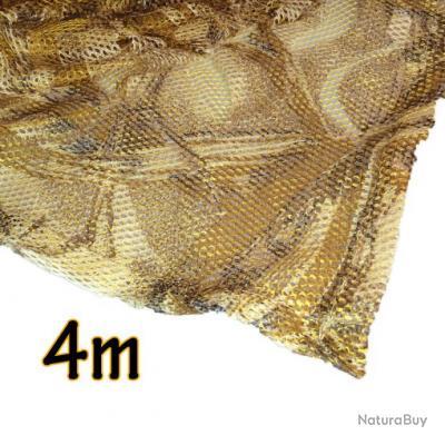 """Filet de camouflage """"MAÏS"""" ghost 3D  4m"""