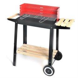 petit barbecue a charbon de bois hibachi pour camping plage transportable mobile barbecue. Black Bedroom Furniture Sets. Home Design Ideas