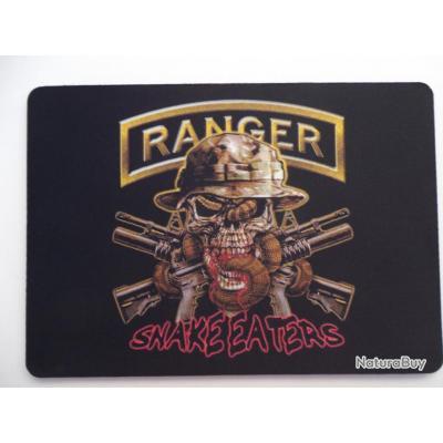 Tapis De Souris Pour Ordinateur Modele Skull Ranger Snake