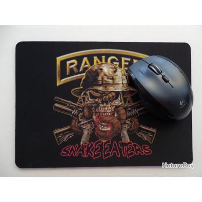 Grand Tapis De Souris Pour Ordinateur Modele Skull Ranger Snake