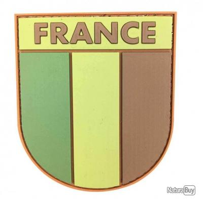 Insigne France 3D NB Coyote
