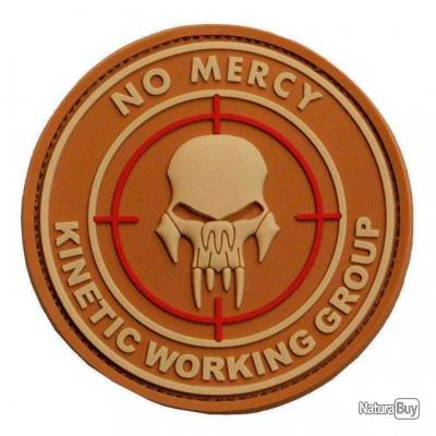 Morale patch No Mercy Kinetic Working Group NB Coyote